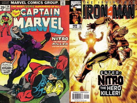 captain marvel nitro