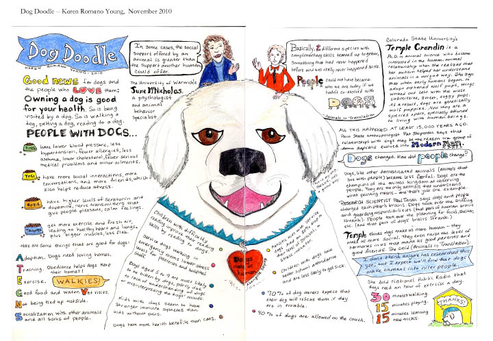Dog Doodle pages